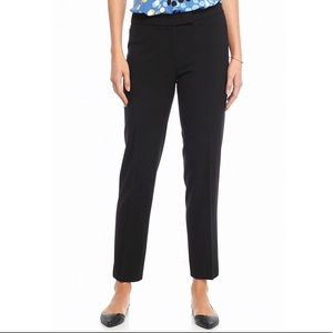AK Anne Klein straight stretch black pants size 6P